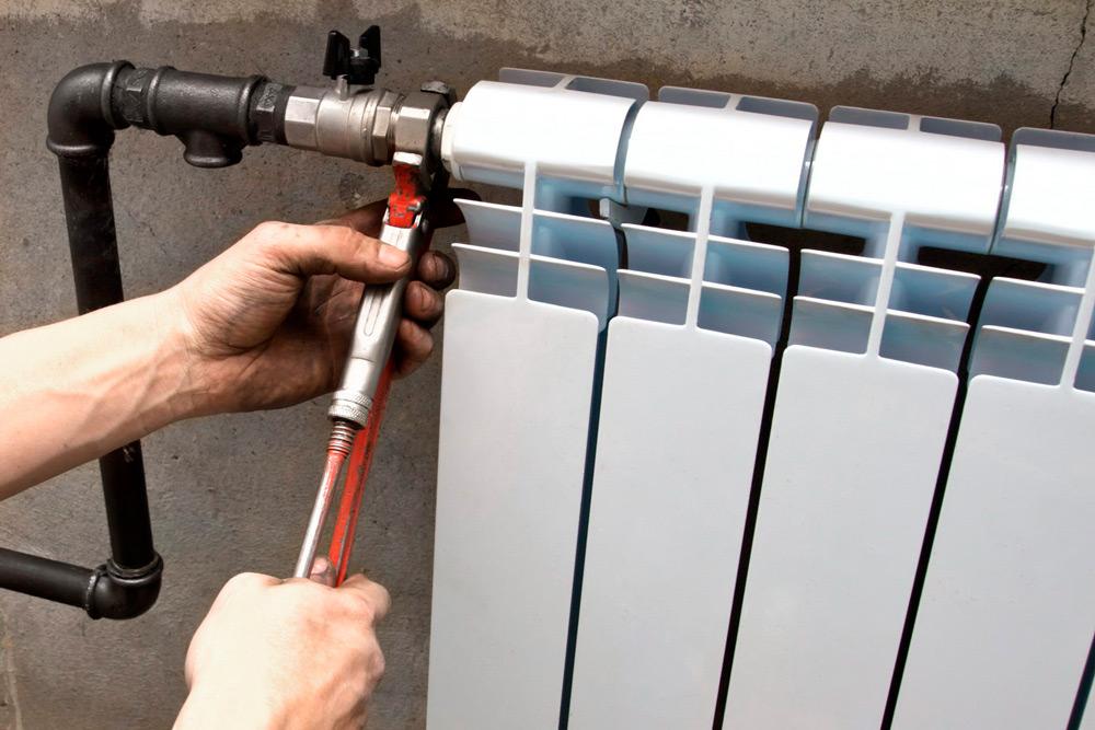 Отопительный алюминиевый радиатор