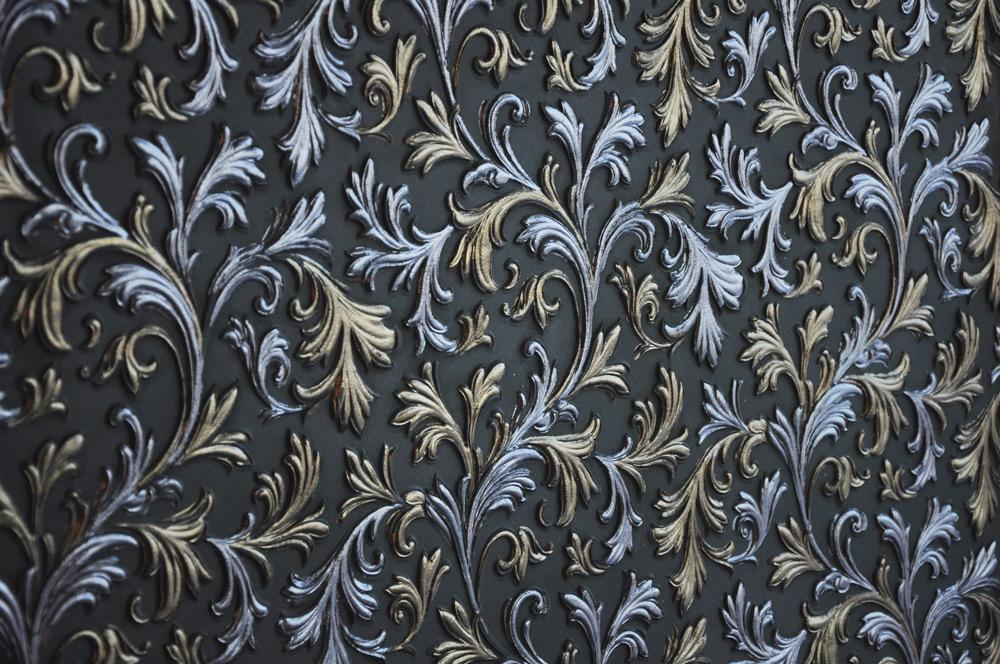 Декоративные рельефные обои Линкруста