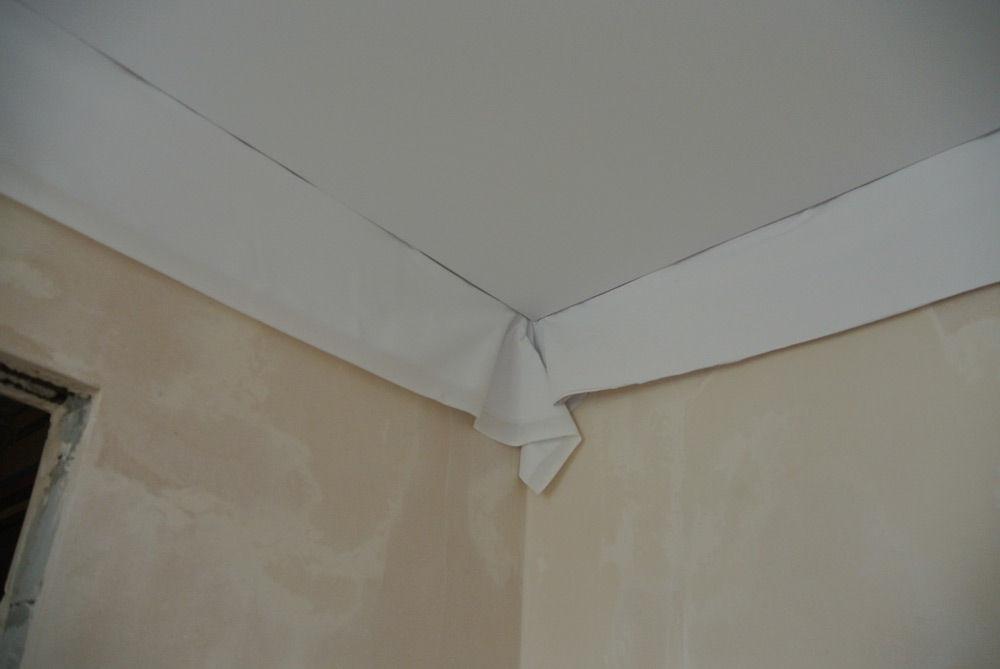 Установленный потолок