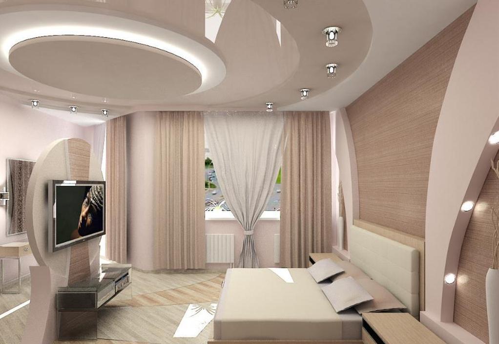Дизайна потолка спальни