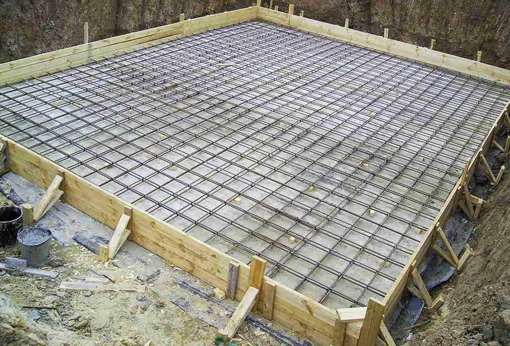 Возведение бетонной опалубки