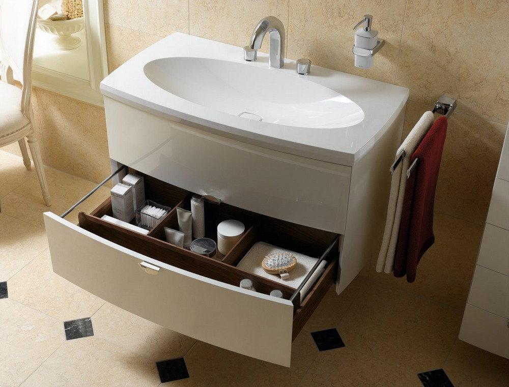 Раковина с тумбой ванную