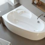 Угловая асимметричная ванна