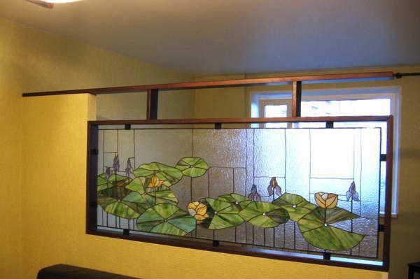 Витражное фальш-окно