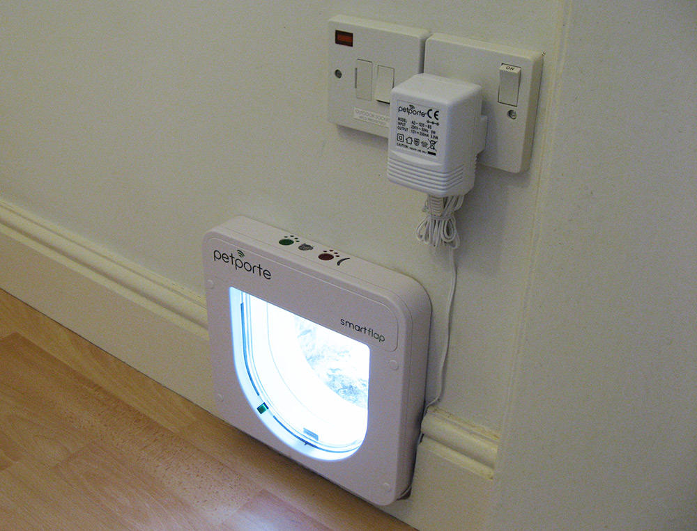 Электронная дверь для кошки