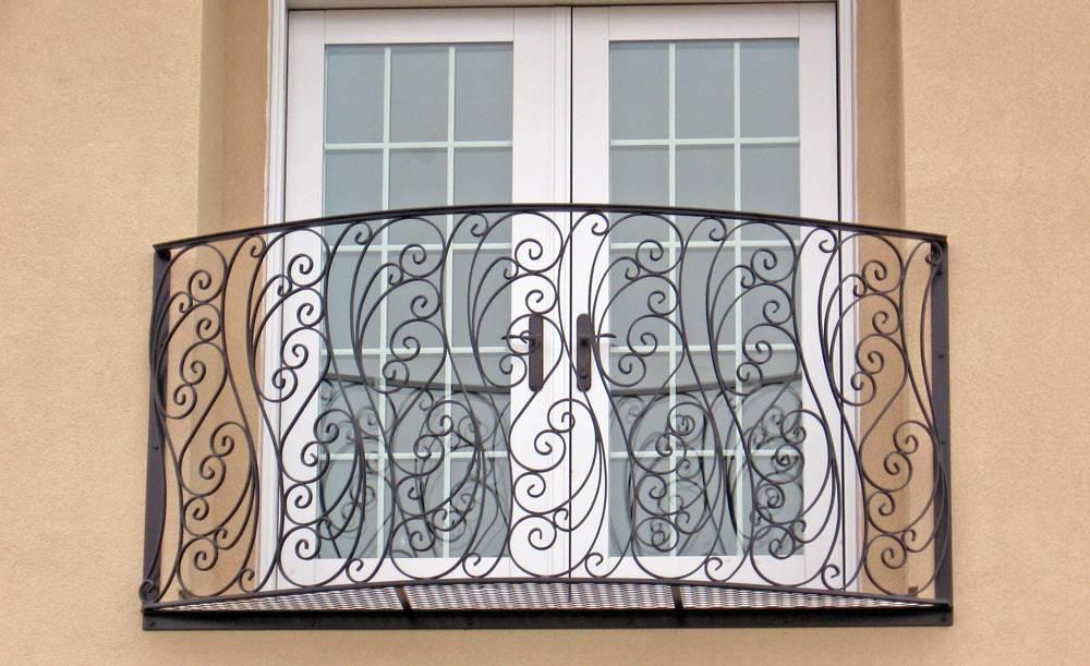 Французские балконы и окна