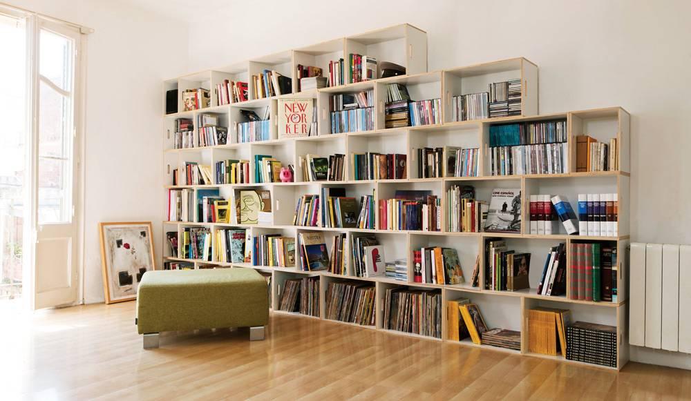 Многоярусная полка для книг