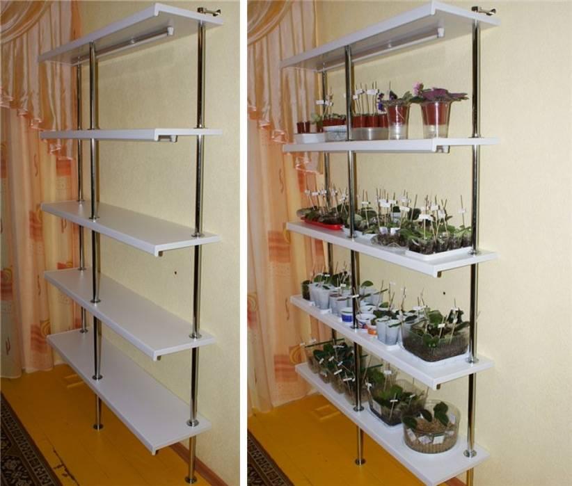 Пластиковый подоконник для цветов
