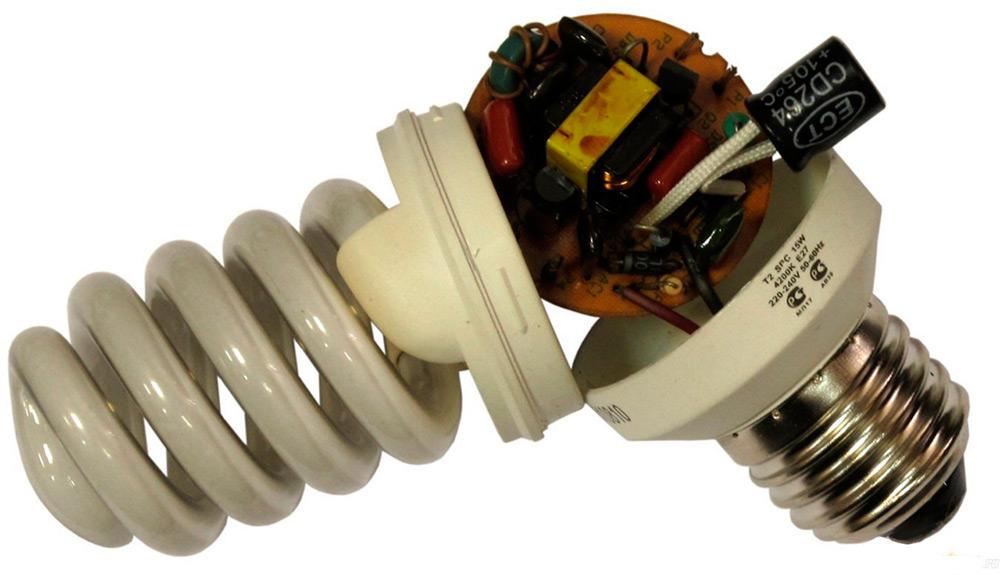 Плата энергосберегающей лампы