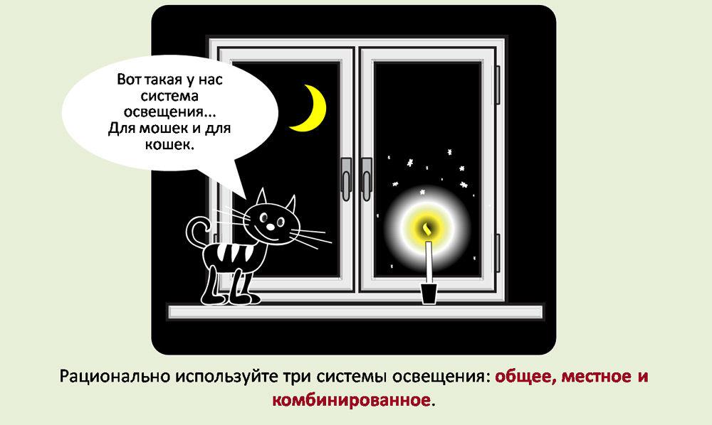 Рациональное использование освещения