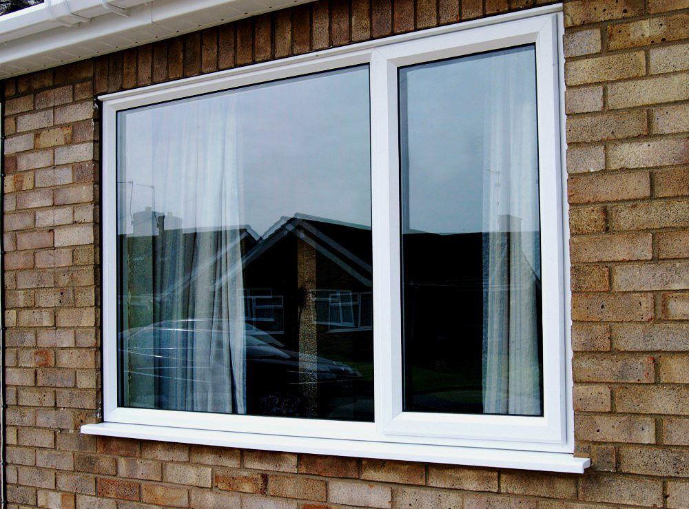 Пластиковое окно снаружи