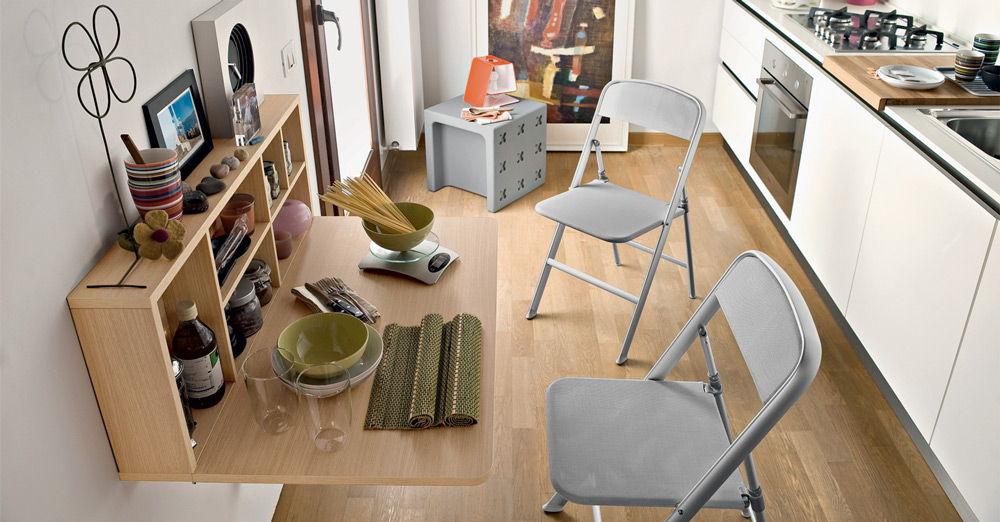 Складной столик и стулья