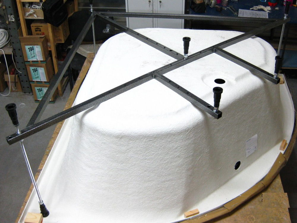 Каркас акриловой ванны