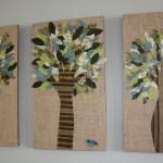 Картины из панно