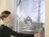 Поклейка энергосберегающей плёнки