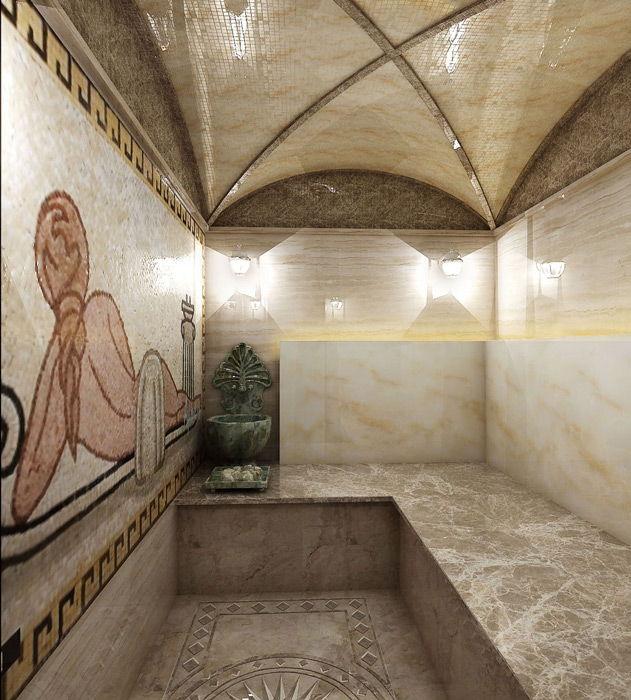 Обустройство турецкой бани