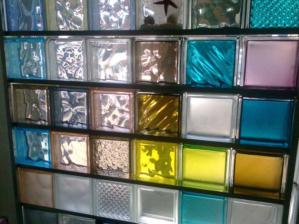 Разнообразие стеклоблоков