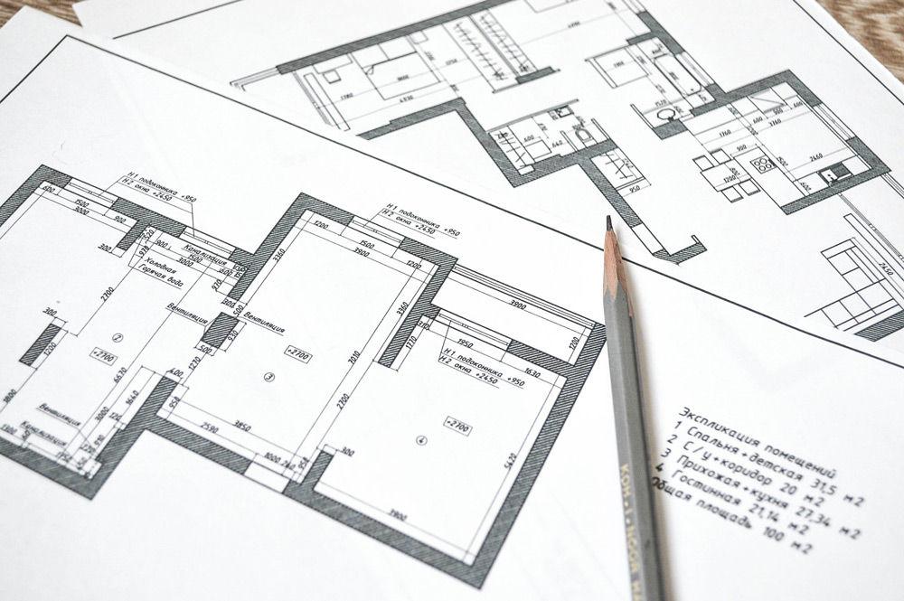 Старый и новый план квартиры