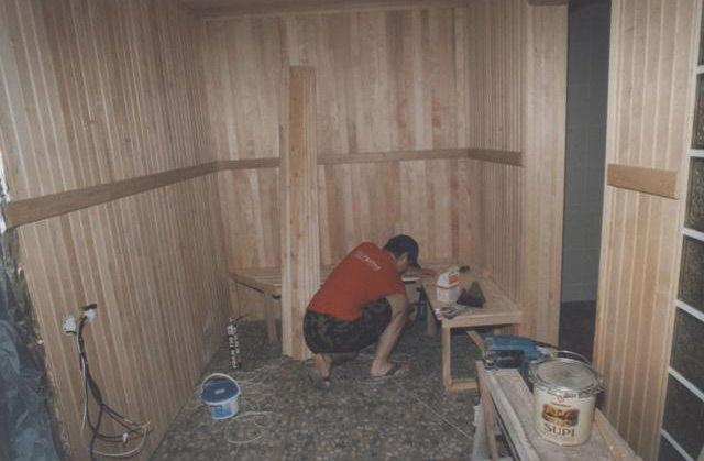 Строительство сауны
