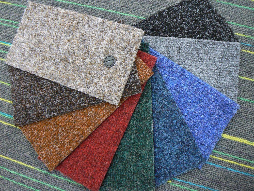 Разные цветовые решения ковролина
