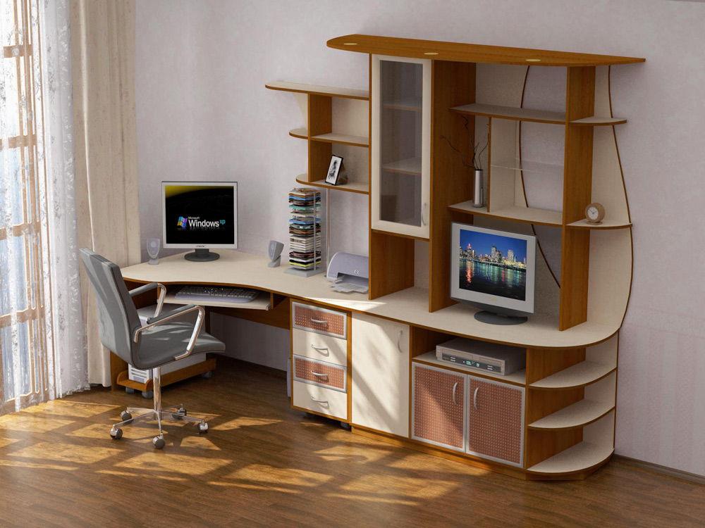 Компьютерный письменный стол для школьника