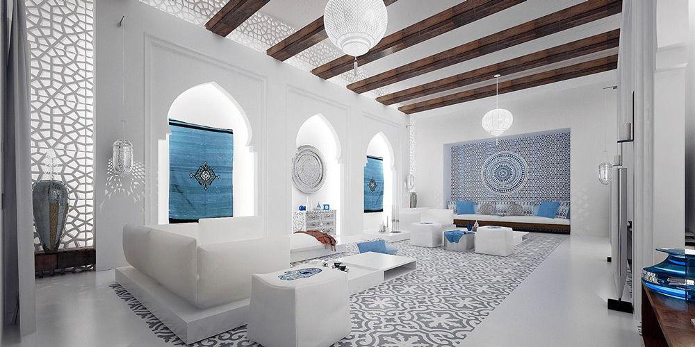 Марокканский стиль в светлых тонах
