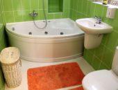 Оформление маленькой ванной комнаты