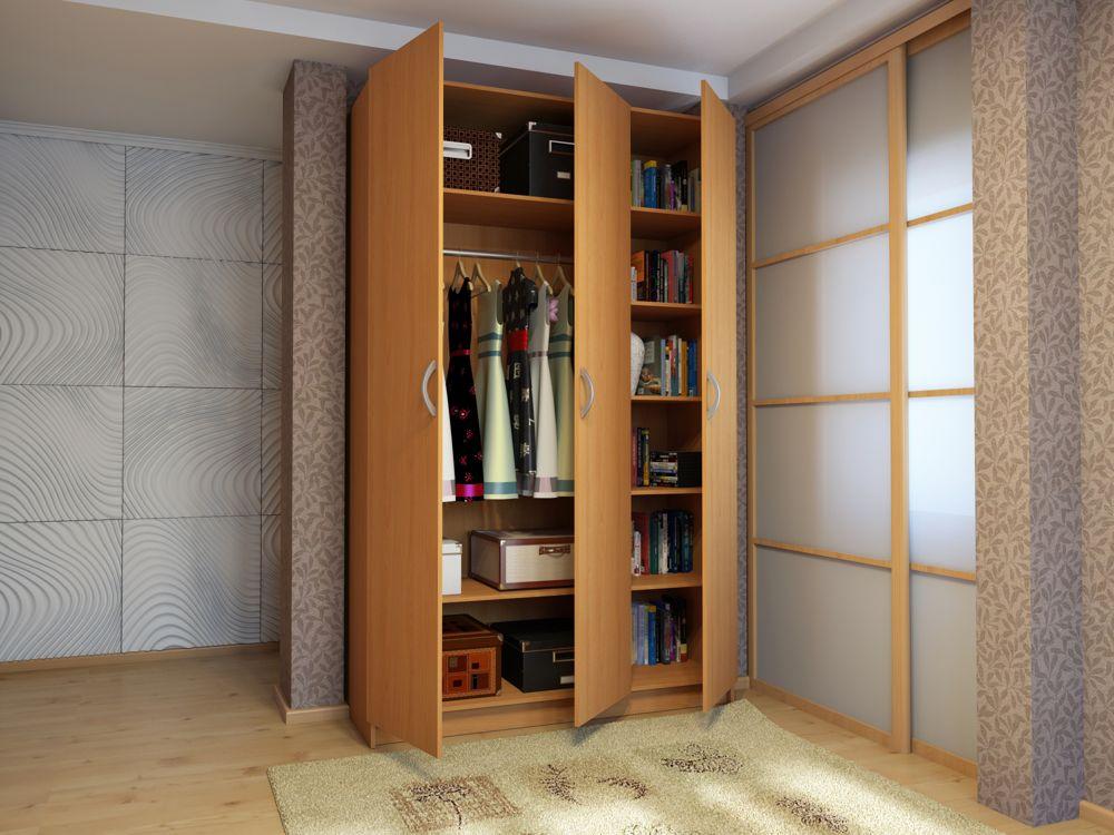 Распашной шкаф Милан