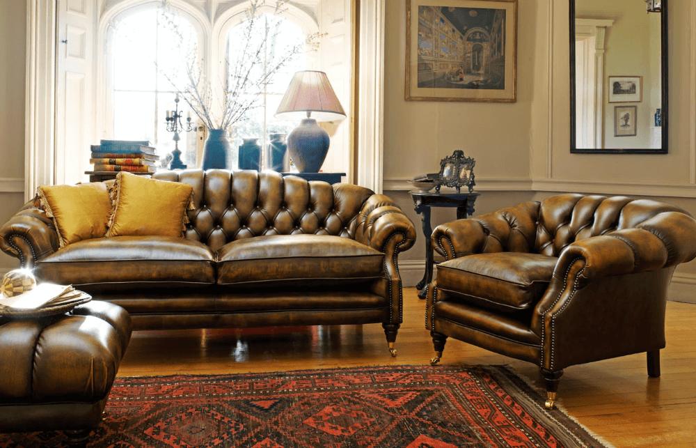 """Мебель """"Честерфилд"""" в английском стиле"""