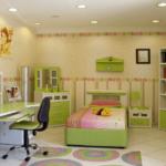 Интерьер детской комнате