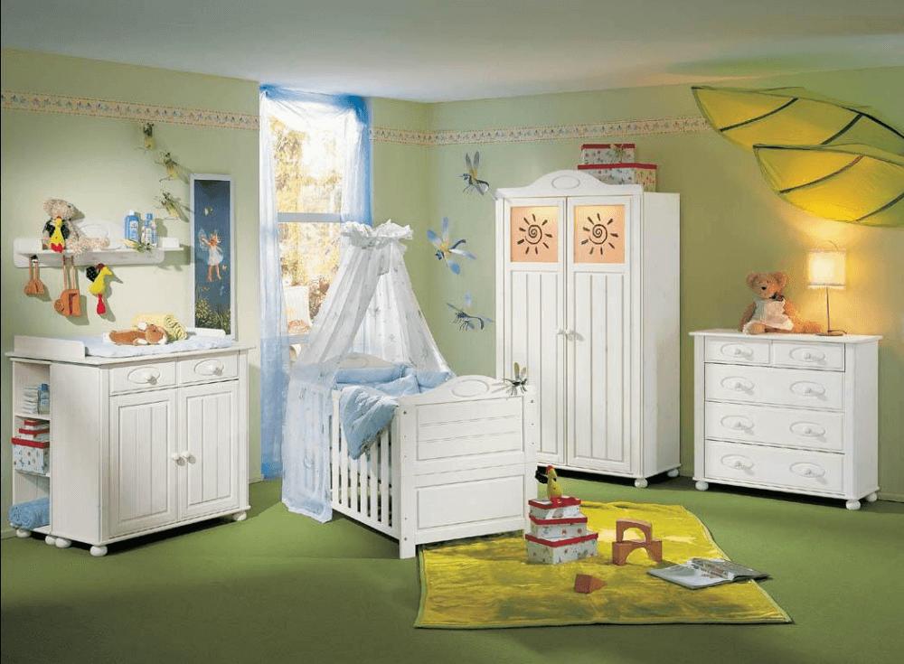 Комнатка для новорожденых