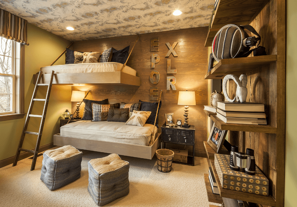 Детская комната в стиле кантри