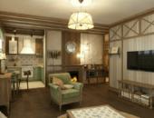 Интерьер квартиры в стиле кантри