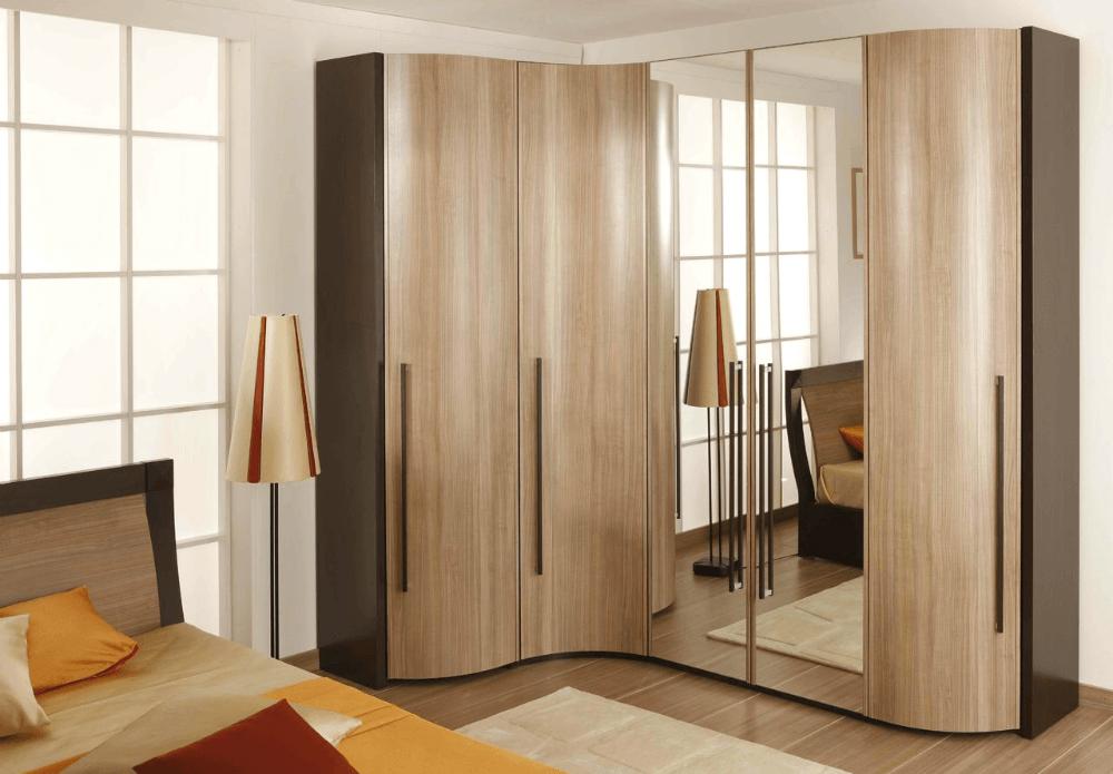 Интерьерный шкаф в спальню