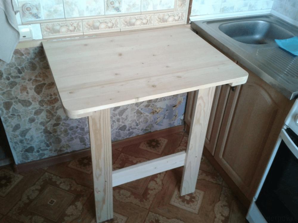 Складной кухонный столик