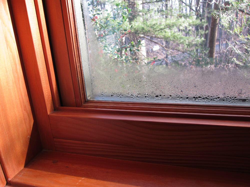 Конденсат на металлопластиковом окне