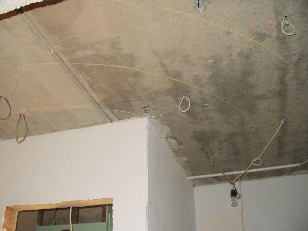Разметка для каркаса подвесного потолка