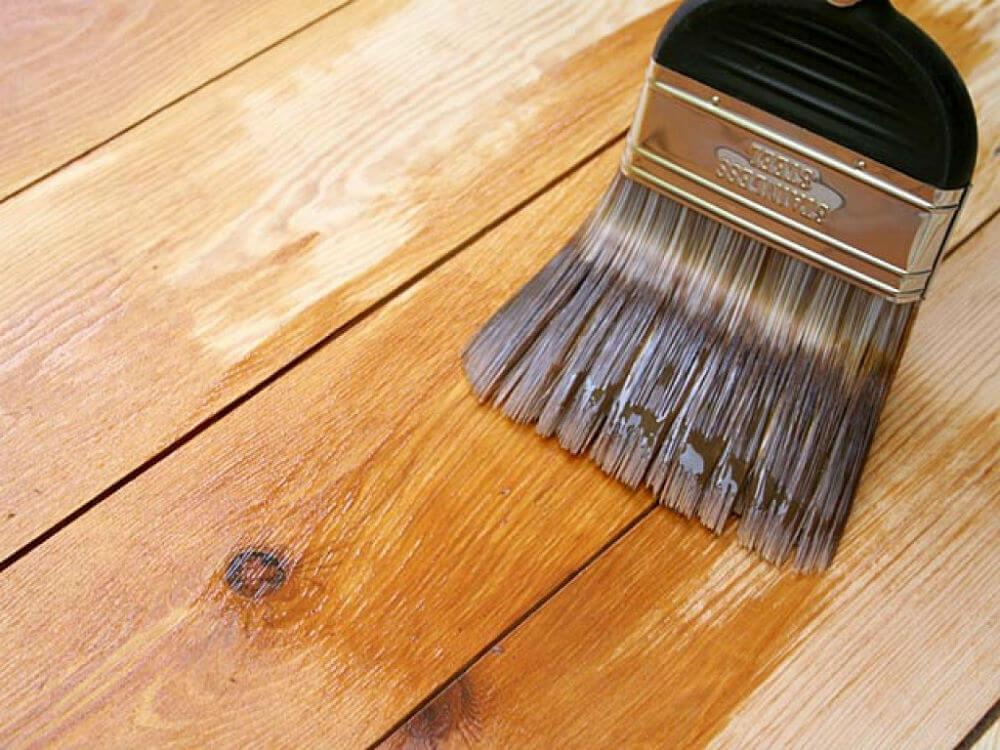 Реставрация деревяной поверхности