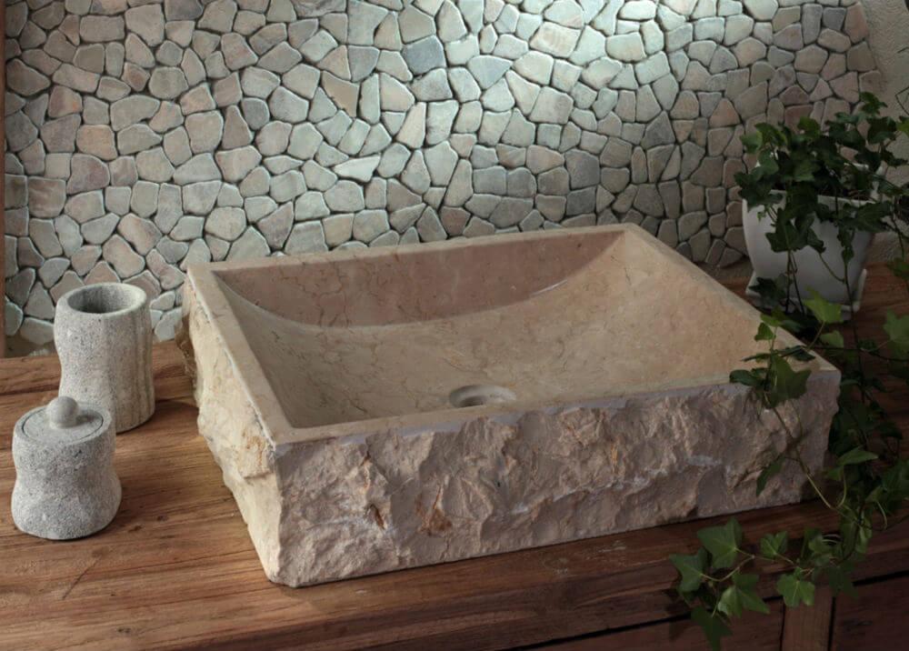 Раковина из искуственного камня