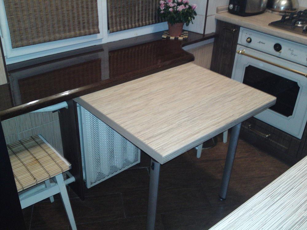 Кухня с откидным столом