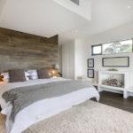 Дизайн спальни в эко-стиле в серых тонах