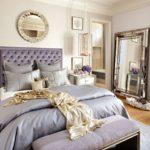 Нежная цветовая гамма спальни
