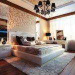 Современная спальня в стиле ар-деко