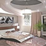 Оригинальная современная спальня