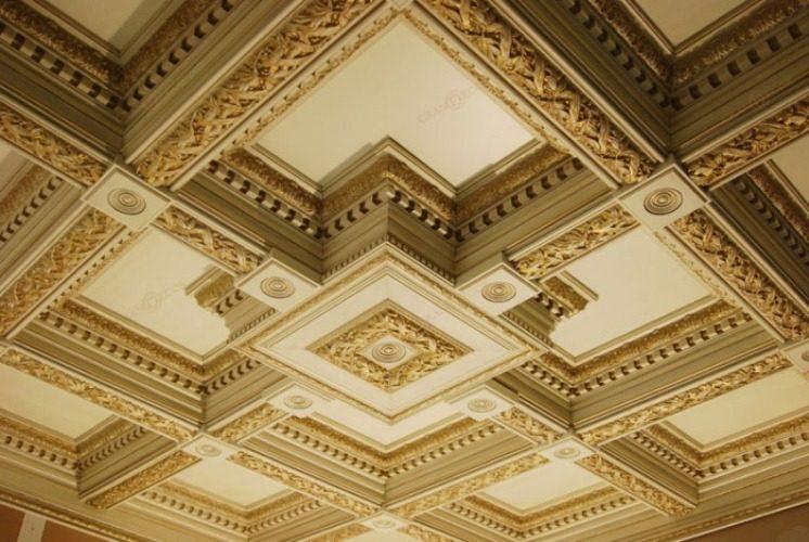 Кессонная конструкция потолка