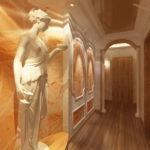Оформление прихожей в античном стиле
