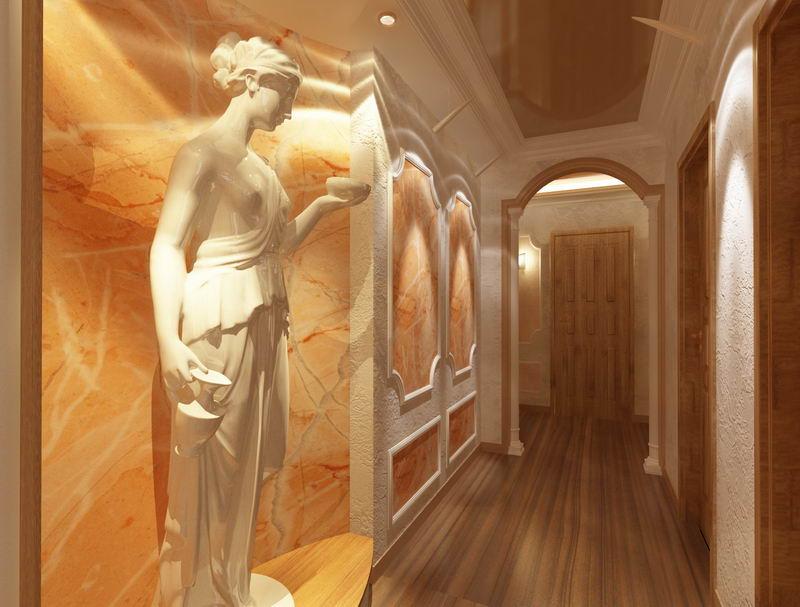 Античный (в том числе греческий) стиль в интерьере: особенности дизайна и прочее