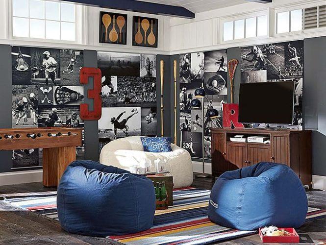 Дизайн большой комнаты для подростка