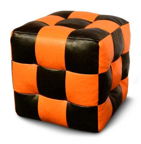 Кубическое кресло-пуф
