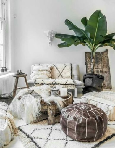 Дизайн комнаты в этническом стиле
